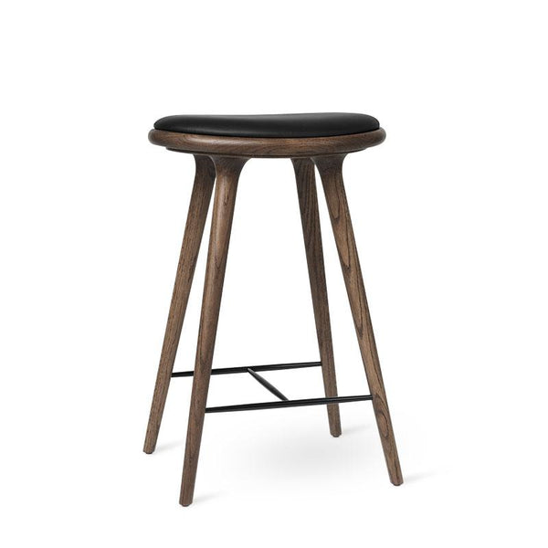 High Stool | Mørk lakeret egetræ | Køkken