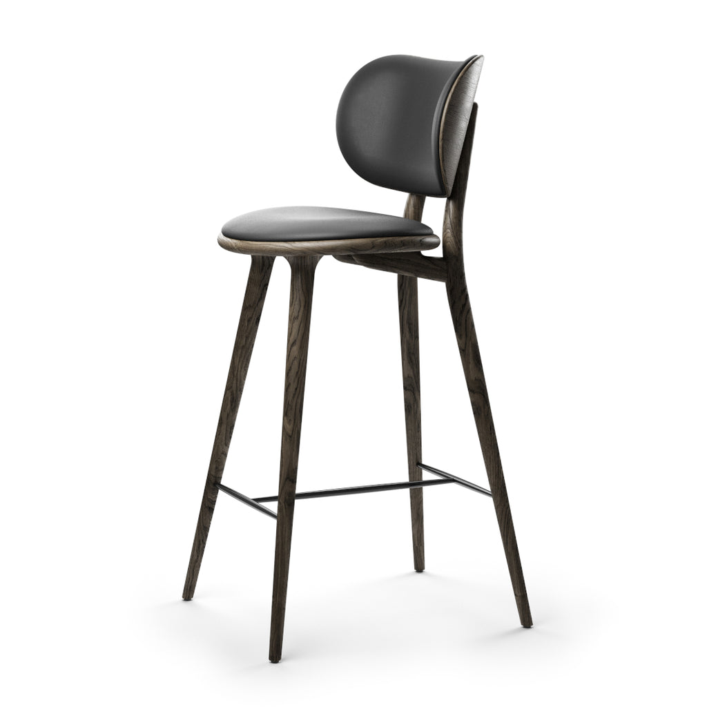 High Stool Backrest | Sirka grey eg | 69 cm