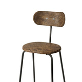 Earth Stool Backrest | Mask Edition | by Eva Harlou