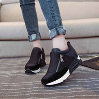 Women Sneakers Sports Shoes Women Running Hiking Shoes Thick Bottom Platform