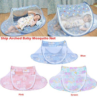 Portable Baby Mosquito Insect Cradle Bed Netting Canopy Cushion Mattress for Infant