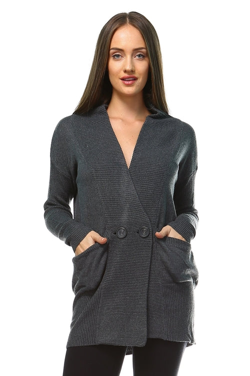 Women's Soft Knit Cardigan