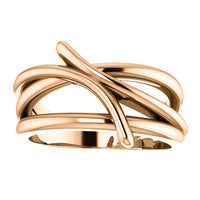 Bypass Freeform Ring