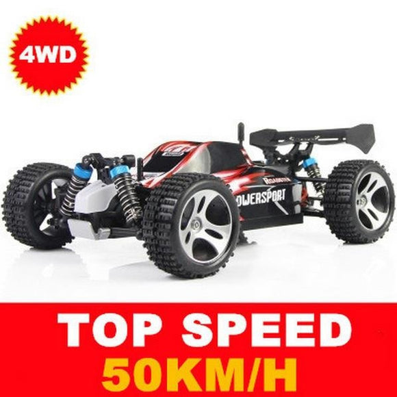 Wltoys A959 Racing RC Car 4WD 2.4GHz Drift Toys Remote Control Car