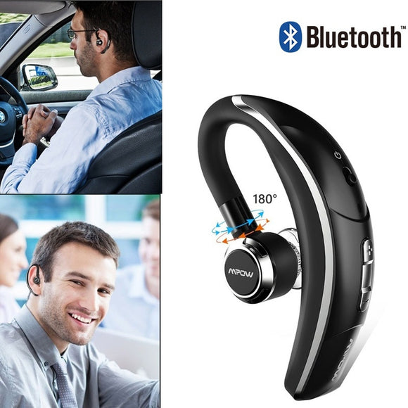 Wireless Bluetooth 4.1 Headset business Headphones with Voice Capture Technology