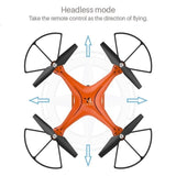 Aerial Photography RC Drone Wifi with HD Camera 4-Axis Gyro One Key Return Drone