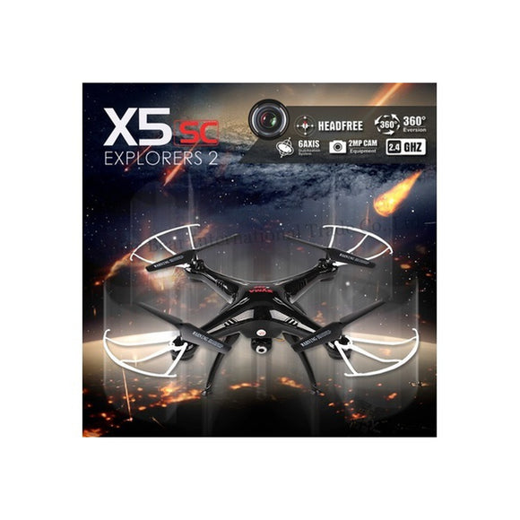 Gifts! Original Syma X5SC RC Drone With 2.0MP Camera 2.4G 4CH 6Axis Quadcopter Toys