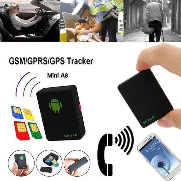New Mini A8 Global Real Time Tracker A8 GPRS Tracking Device
