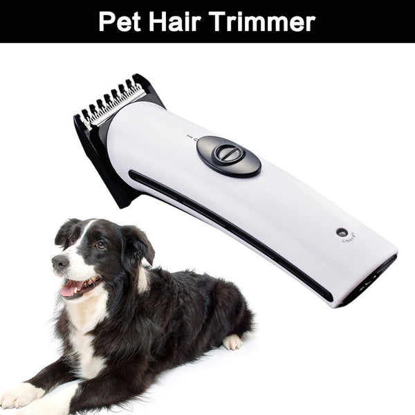 Rechargeable Cat Dog Hair Trimmer Electrical Pet Hair Clipper Remover