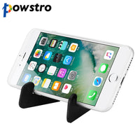 Powstro Smart Phone Holder Mini Foldable Vertical and Horizontal Mount Stand for iPhone iPad Samsung Galaxy HTC One