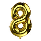 32 inch Thickened Helium Foil Balloons Birthday Number Balloons for Wedding Anniversary