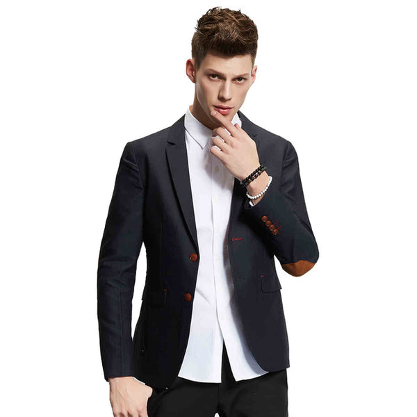 TANGNEST Single Breasted Blazer Masculino