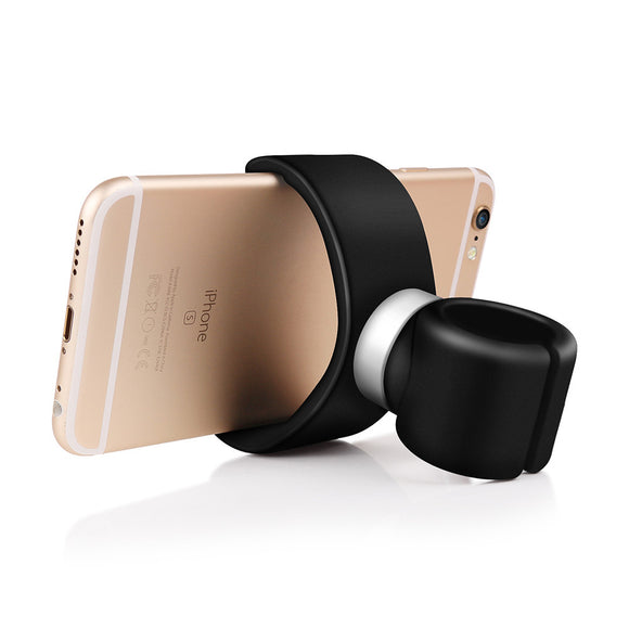 Powstro Universal 360 Degrees Air Vent Bicycle Car Cell Phone Holder Stands For iPhone 6 Plus 6S 5S For Samsung Stands