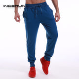 Men's Pants Long Sweatpants Trousers Male Tracksuit Bottoms For Mens Casual High Quality Joggers Slacks