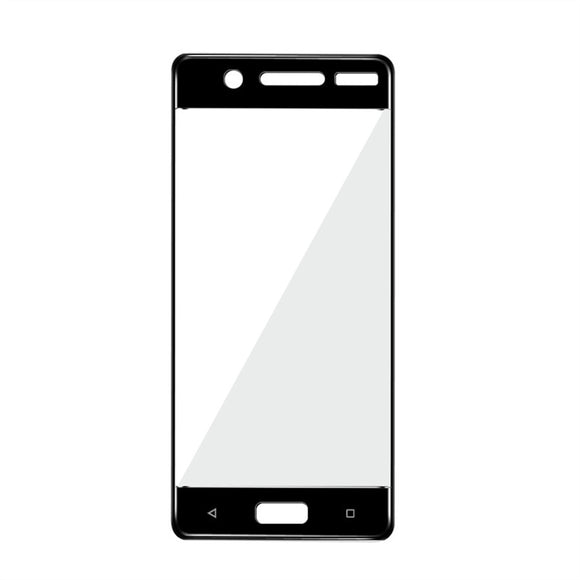 Full Cover Tempered Glass Screen Protector HD Scratch-Resistant Anti-Reflective Screen Protector for Nokia 5