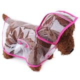 Pet Raincoat Waterproof Puppy Jacket Pet for Small Dogs