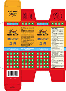 Packaging Tiger Balm Liniment 28ml