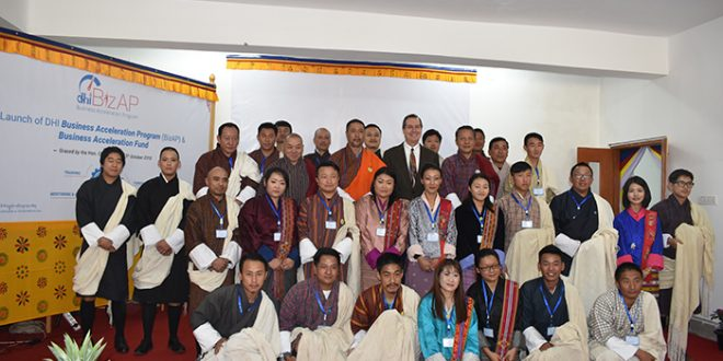 Bhutan business incubator and Bhutan entrepreneurship program