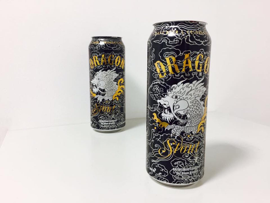 Dragon stout beer from Bhutan