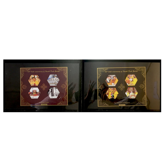 Bhutan post stamp collections