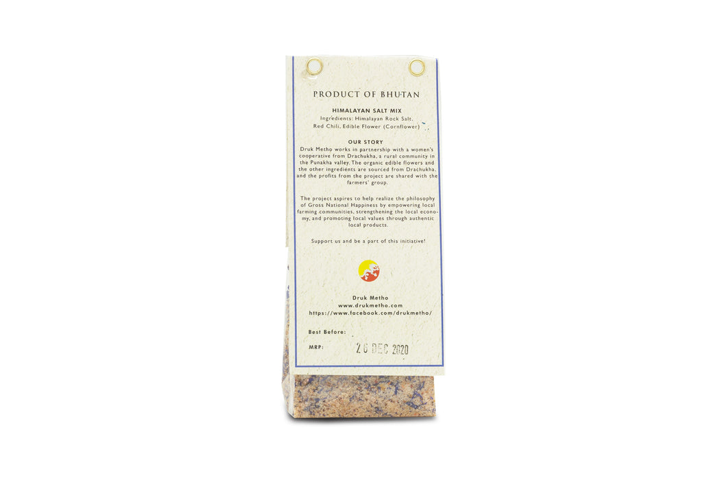 Himalayan Salt Mix Blended with Organic Flowers, Tree Tomatoes and red chilies - Druksell.com (4404132741238)