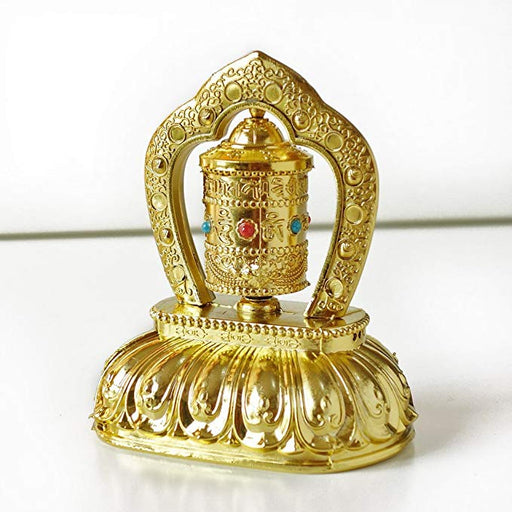 Bhutanese Solar Buddhist Prayer Wheel - Druksell.com