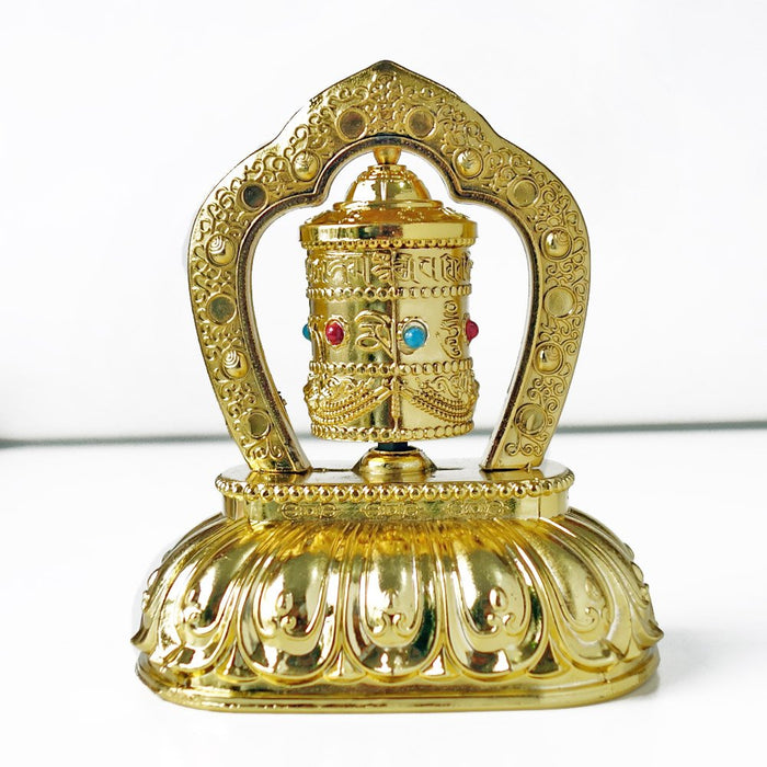 Buddhist prayer wheel from Bhutan