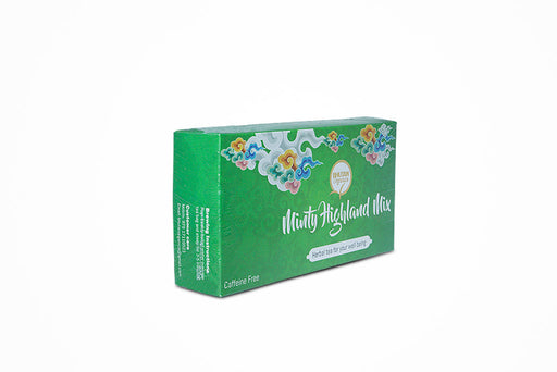 Bhutan Minty Highland mix pure organic herbal tea from bhutan