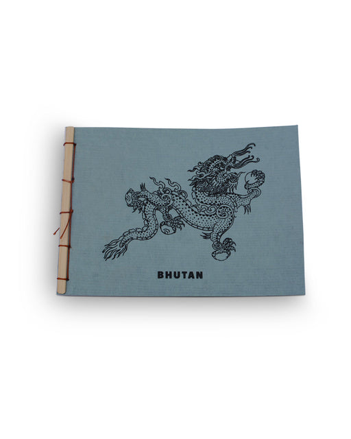 Dragon On Organic Blue Desho Stationary