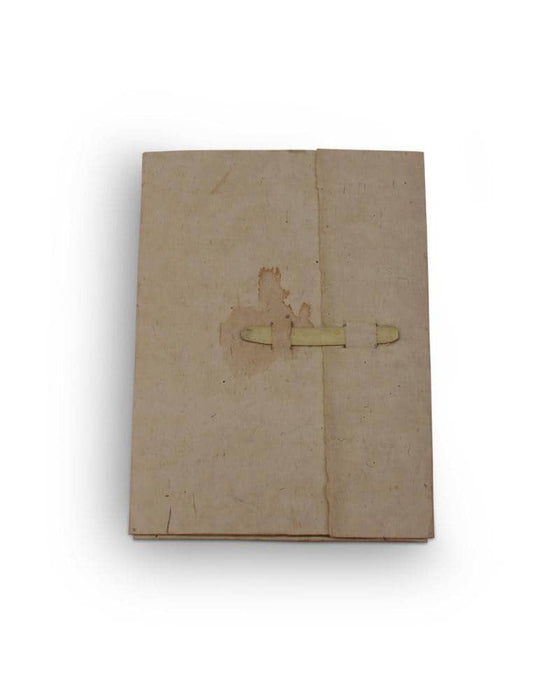 Journal Pad-Bamboo Clip Desho Cover Stationary