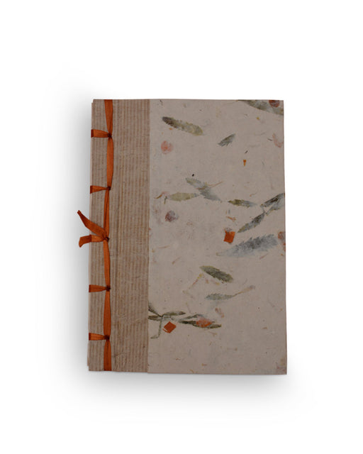 Mini Notebook With Floral Dyes Stationary