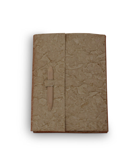 Desho Notebook With Bamboo Clip Stationary