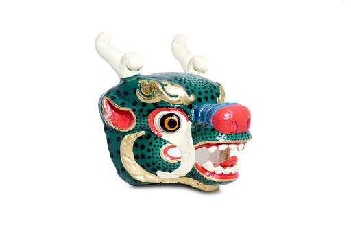 the most popular dragon mask from bhutan