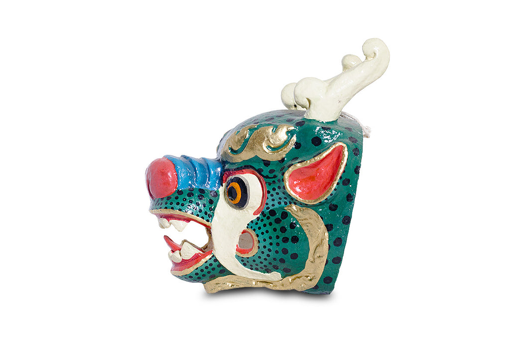 dragon mask of bhutan