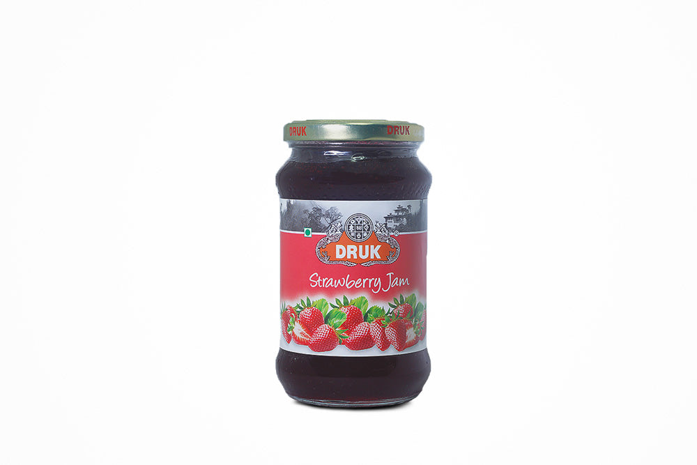 Druk Strawberry jam