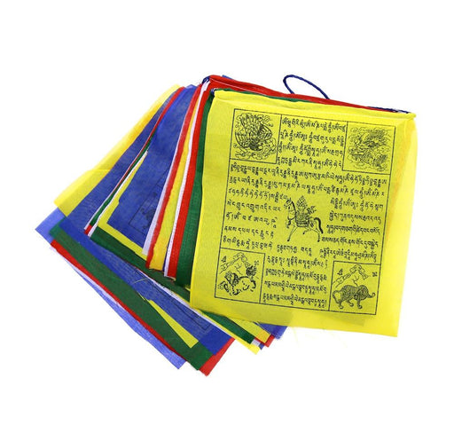 Large Windhorse Prayer Flags - Druksell.com
