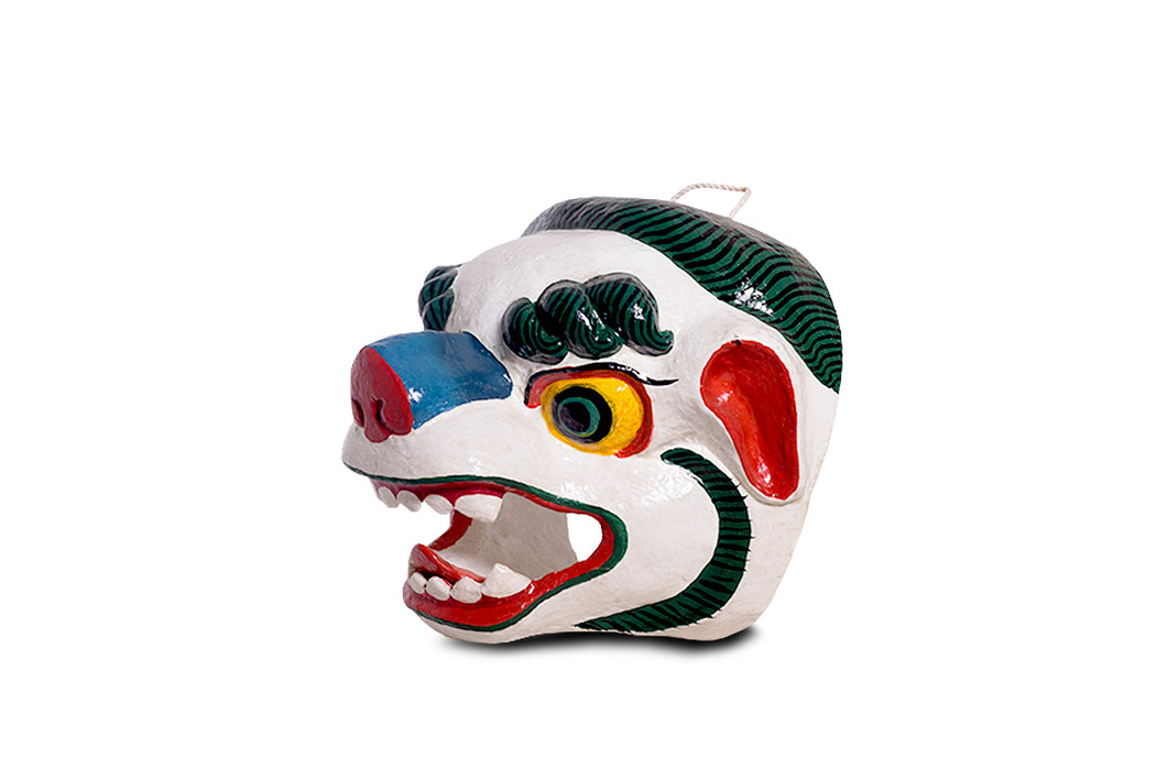 The Snow Lion mask from Bhutan - Druksell.com