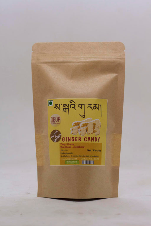 Ginger Candy from Bhutan - Druksell.com