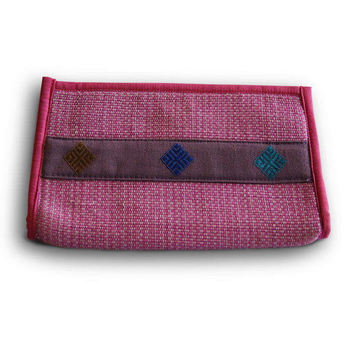 Raw Silk Purse Bags
