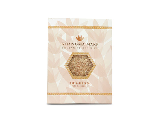 Organic red rice | KHANGMA MARP (Bhutanese red rice) 1 kg - Druksell.com