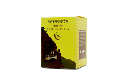 Bhutan Cordyceps Tea by Naturally Bhutan - Druksell.com