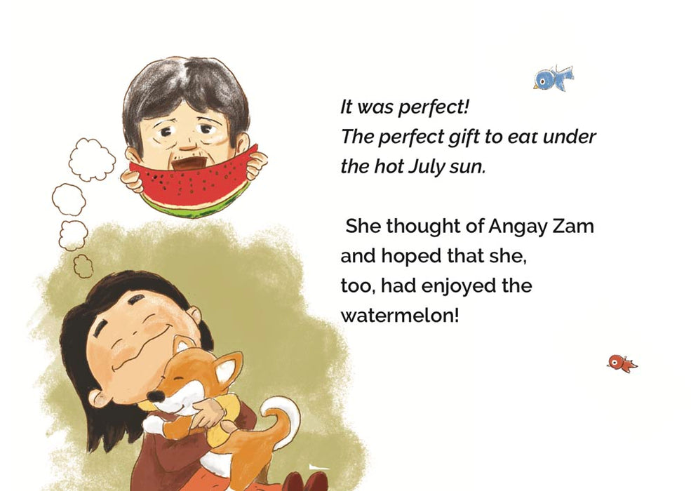 childrens book from Bhutan illustrated by Bhutanese artist