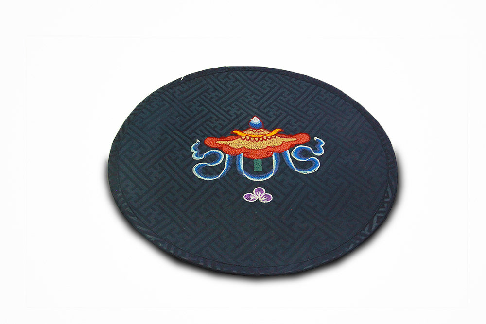 Traditional tray pad (Dark Blue)