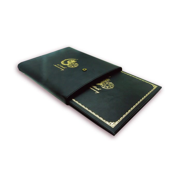 Bhutan stamp album collection black bind - Druksell.com