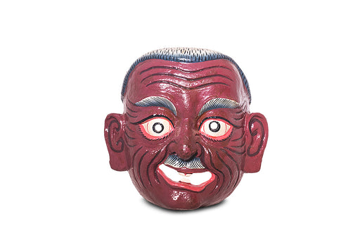 Atsara (old man) mask from Bhutan - Druksell.com