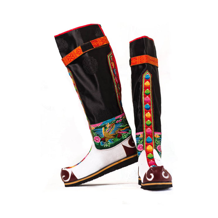 Traditional boots or shoe | Tsholam from Bhutan by Druksell (4170468032630)