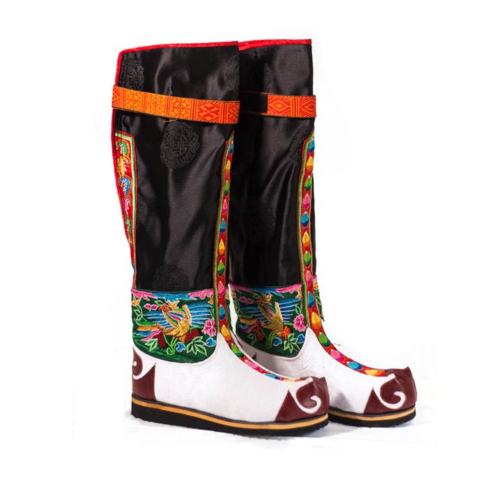 Bhutan Tsholam boots and shoes (4170468032630)