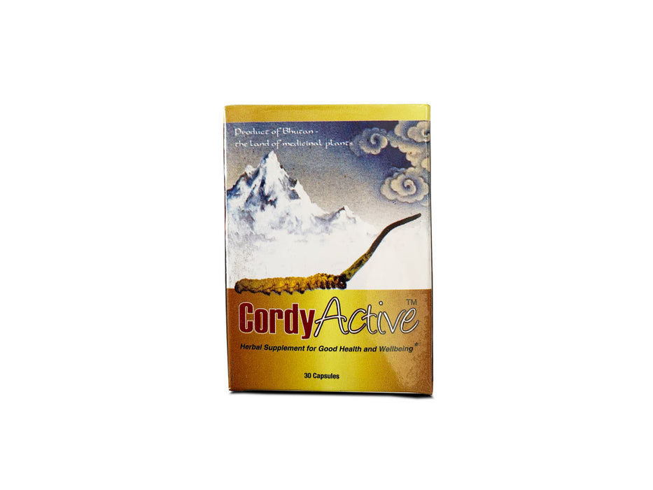 cordyactive cordycep supplement from Bhutan