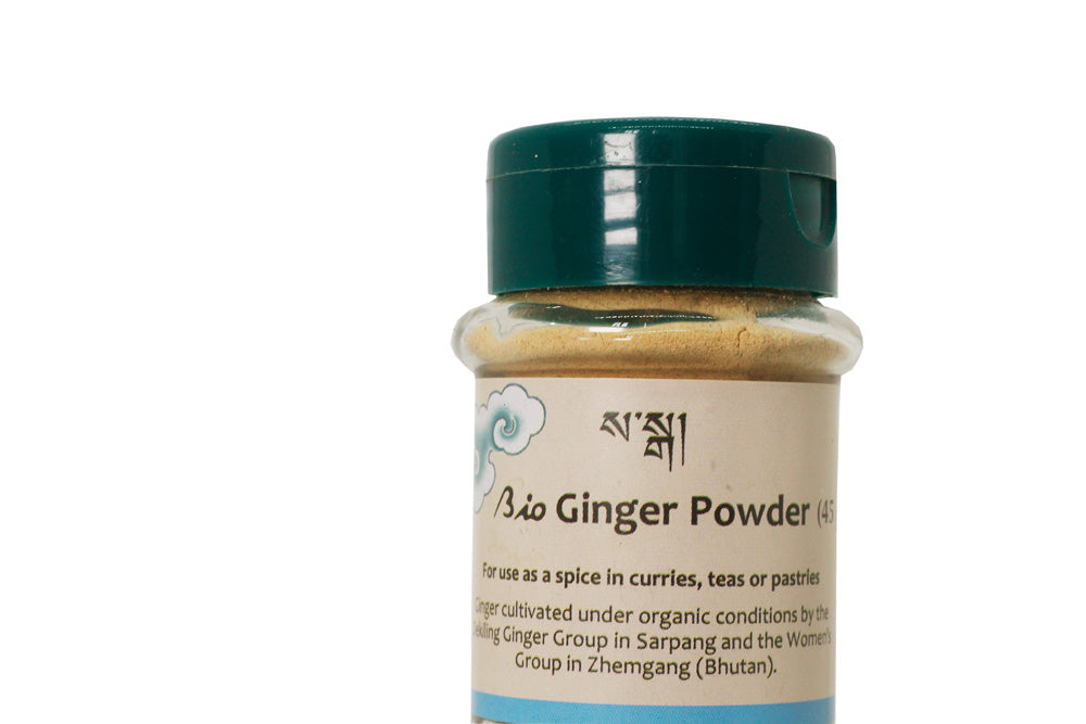 fresh ginger powder bhutan