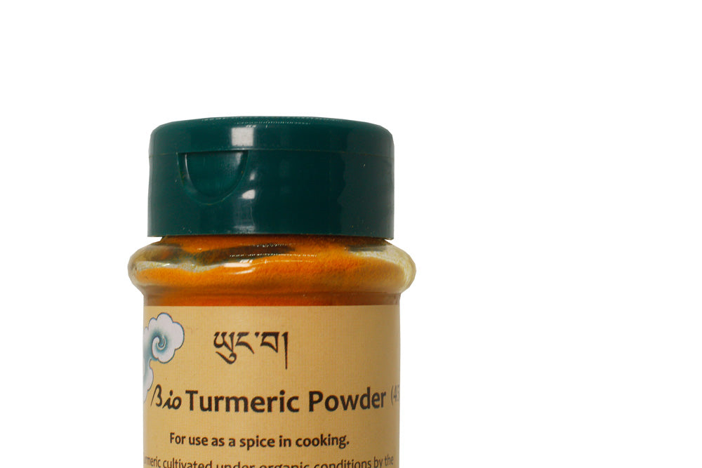 organic pure turmeric from Bhutan